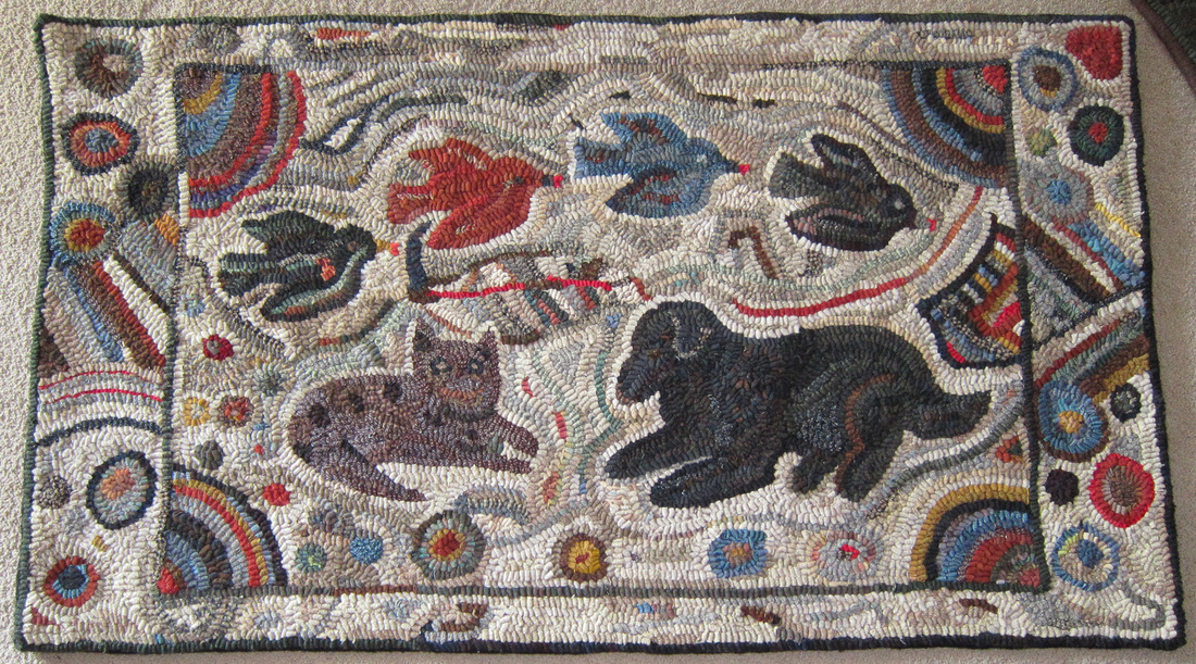 Primitive Hooked Rugs For Sale Roselawnlutheran